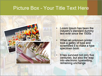Banquet tables PowerPoint Template - Slide 20