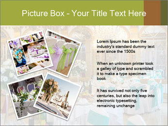 Banquet tables PowerPoint Template - Slide 23