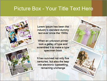 Banquet tables PowerPoint Template - Slide 24