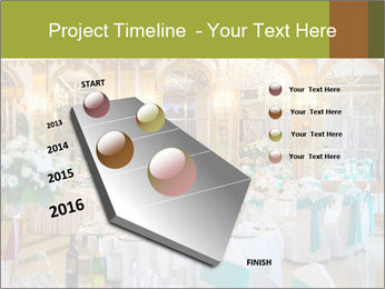 Banquet tables PowerPoint Template - Slide 26