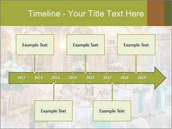 Banquet tables PowerPoint Template - Slide 28