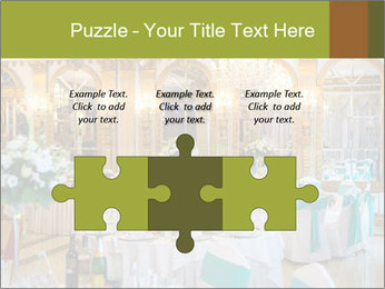 Banquet tables PowerPoint Template - Slide 42