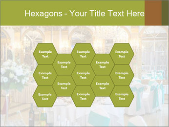 Banquet tables PowerPoint Template - Slide 44