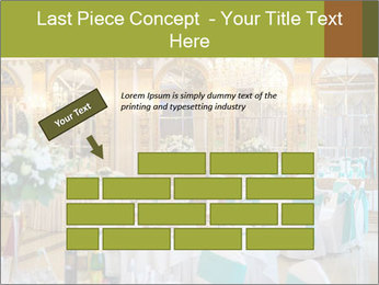 Banquet tables PowerPoint Template - Slide 46