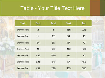 Banquet tables PowerPoint Template - Slide 55