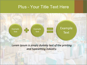 Banquet tables PowerPoint Template - Slide 75