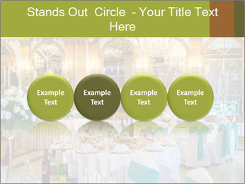 Banquet tables PowerPoint Template - Slide 76