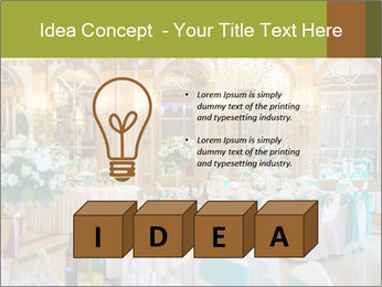 Banquet tables PowerPoint Template - Slide 80