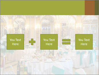 Banquet tables PowerPoint Template - Slide 95