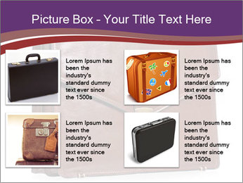 Brown leather briefcase PowerPoint Templates - Slide 14