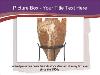Brown leather briefcase PowerPoint Templates - Slide 15