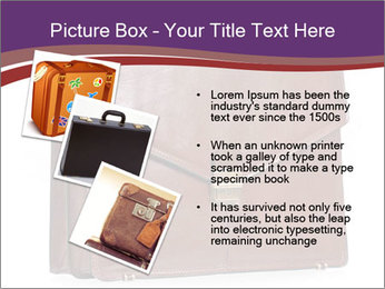 Brown leather briefcase PowerPoint Templates - Slide 17
