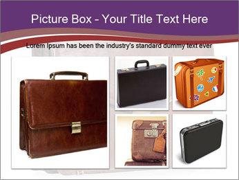 Brown leather briefcase PowerPoint Templates - Slide 19