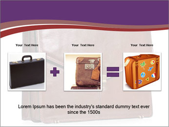 Brown leather briefcase PowerPoint Templates - Slide 22