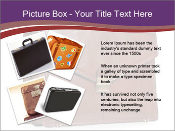 Brown leather briefcase PowerPoint Templates - Slide 23