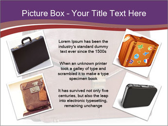 Brown leather briefcase PowerPoint Templates - Slide 24