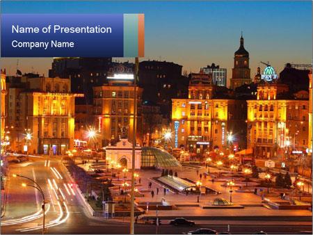 Heart of Kiev PowerPoint Templates