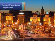 Heart of Kiev PowerPoint Template