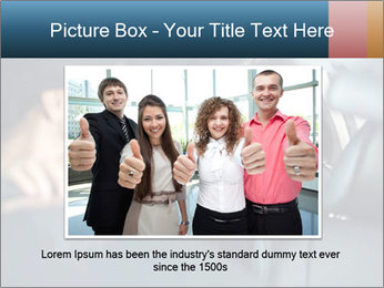 Man sitting in luxury car PowerPoint Templates - Slide 15