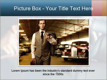 Man sitting in luxury car PowerPoint Templates - Slide 16