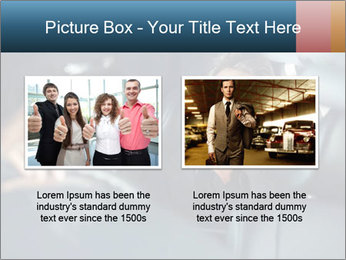 Man sitting in luxury car PowerPoint Templates - Slide 18