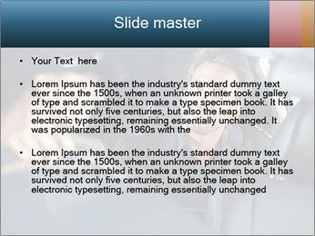 Man sitting in luxury car PowerPoint Templates - Slide 2