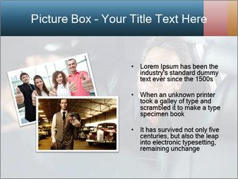 Man sitting in luxury car PowerPoint Templates - Slide 20