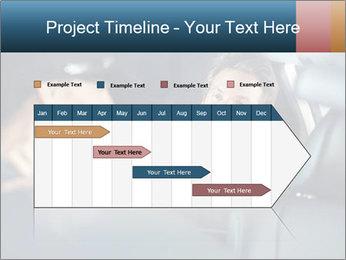 Man sitting in luxury car PowerPoint Templates - Slide 25