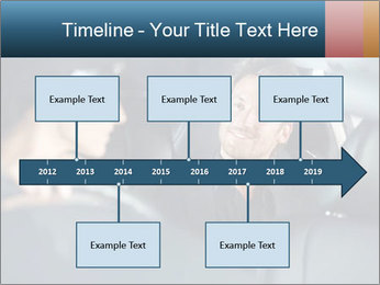 Man sitting in luxury car PowerPoint Templates - Slide 28