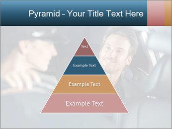 Man sitting in luxury car PowerPoint Templates - Slide 30