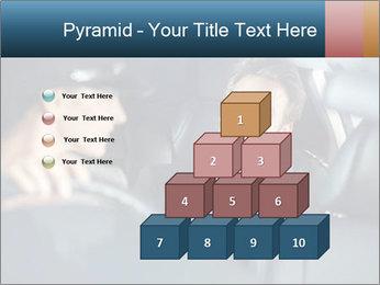 Man sitting in luxury car PowerPoint Templates - Slide 31