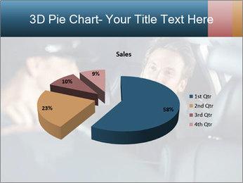 Man sitting in luxury car PowerPoint Templates - Slide 35