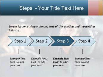 Man sitting in luxury car PowerPoint Templates - Slide 4