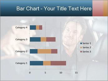 Man sitting in luxury car PowerPoint Templates - Slide 52