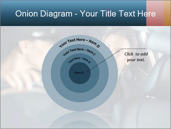 Man sitting in luxury car PowerPoint Templates - Slide 61