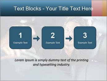 Man sitting in luxury car PowerPoint Templates - Slide 71