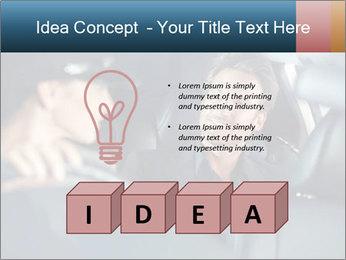 Man sitting in luxury car PowerPoint Templates - Slide 80