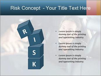 Man sitting in luxury car PowerPoint Templates - Slide 81