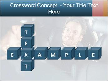 Man sitting in luxury car PowerPoint Templates - Slide 82