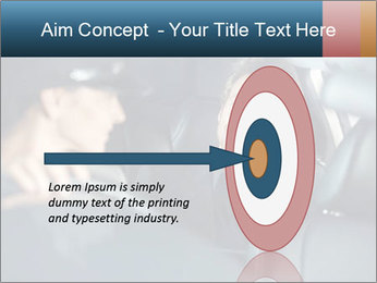 Man sitting in luxury car PowerPoint Templates - Slide 83