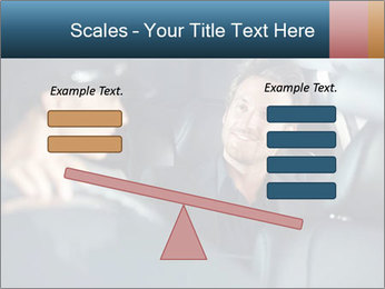 Man sitting in luxury car PowerPoint Templates - Slide 89
