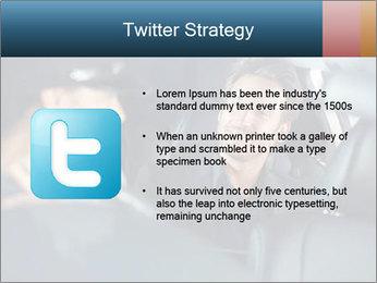 Man sitting in luxury car PowerPoint Templates - Slide 9