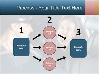 Man sitting in luxury car PowerPoint Templates - Slide 92