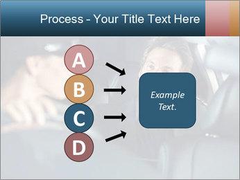 Man sitting in luxury car PowerPoint Templates - Slide 94