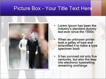 Bride and groom PowerPoint Templates - Slide 13