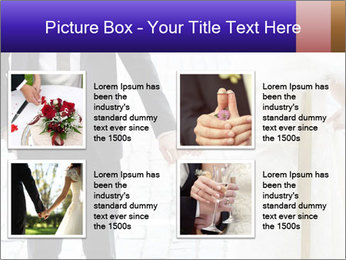 Bride and groom PowerPoint Templates - Slide 14