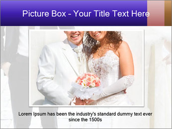 Bride and groom PowerPoint Templates - Slide 16