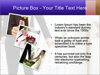 Bride and groom PowerPoint Templates - Slide 17