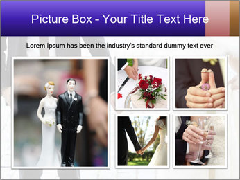 Bride and groom PowerPoint Templates - Slide 19