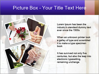 Bride and groom PowerPoint Templates - Slide 23
